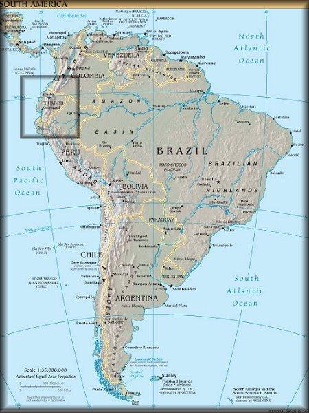 World Map Ecuador Hot Wallpaper - Map of ecuador south america